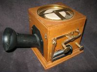 Reconstruction of the first telephone in the world, movie