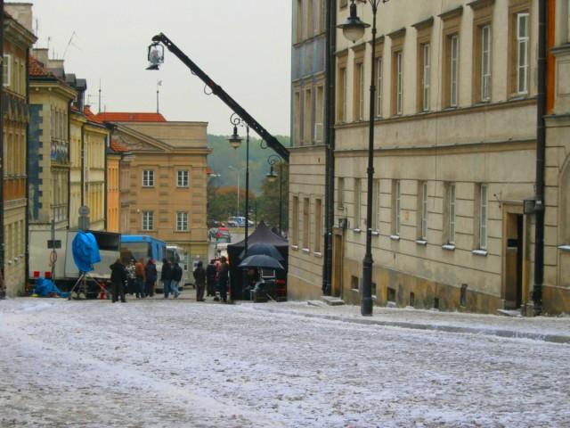 Sztuczny śnieg, reklama Orange (zima 2011).