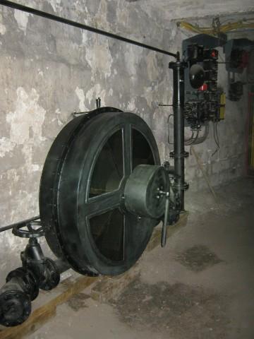 Pompa łopatkowa, model edukacyjny dla Muzeum Górnictwa Węglowego Zabrze.