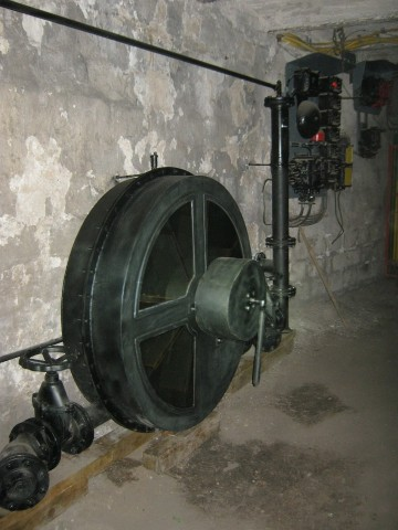Vane pump, model in Guido Mine
