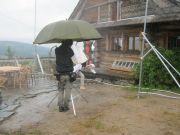 Sztuczny deszcz z filmu Die Familie