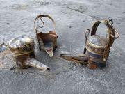 Replika historycznej lampy górniczej