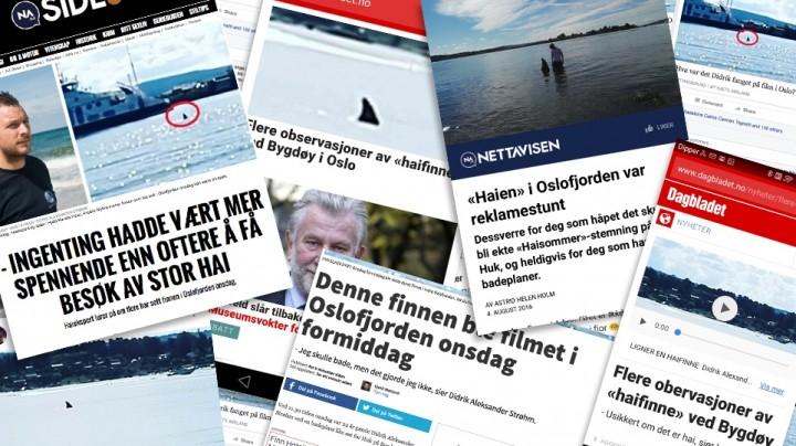Echo w norweskim social-media po promocji filmu