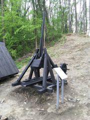 Medieval siege machine - trebuchet...