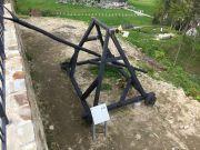 Medieval siege machine - siege hook...