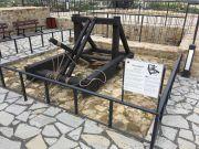 Średniowieczna machina oblężnicza - onager...