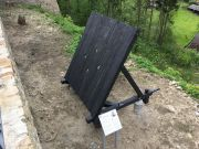 Medieval siege machine - protective shield...